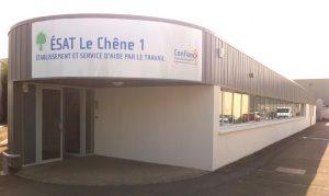 """ESAT """"Le Chêne"""" CONFIANCE Pierre Boulenger situé à RamBouillet"""
